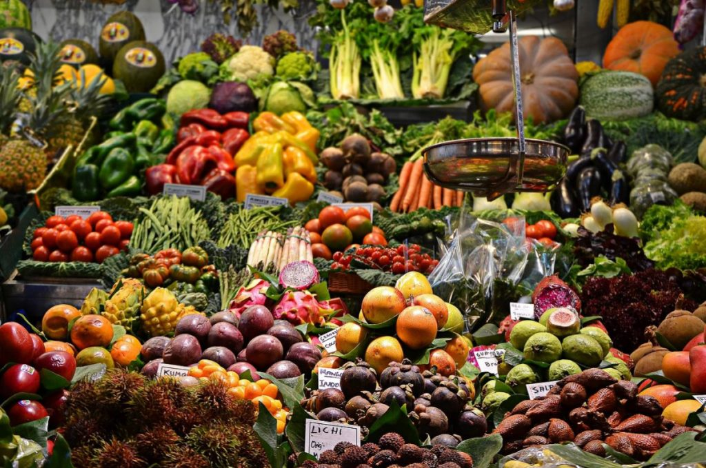Organically grown micro locally sourced produce are food trends for 2020.